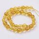 Natural Quartz Crystal Beads StrandsG-G099-F4mm-19-2