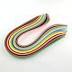 36色長方形クイリングペーパー紙 DIY-R041-06-3