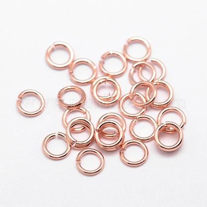 Anillos de bronce ambiental para saltarKK-E711-050-7mm-RG-NR-1