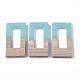 Colgantes de resina y madera de nogalRESI-S358-26-2
