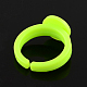 Adjustable Colorful Acrylic Ring ComponentsX-SACR-R740-M-3
