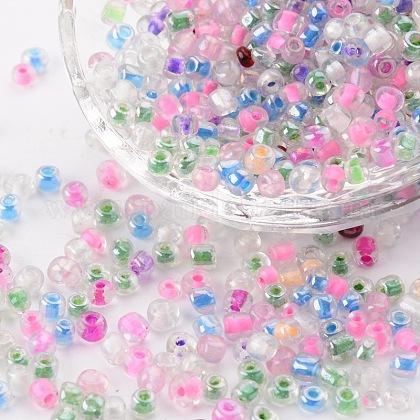 Round Glass Seed BeadsGLAA-Q016-2-1