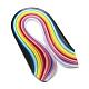 26色長方形クイリングペーパー紙 X-DIY-R041-11-2