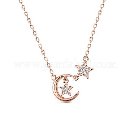 SHEGRACE® 925 Sterling Silver Pendant NecklaceJN605A-1