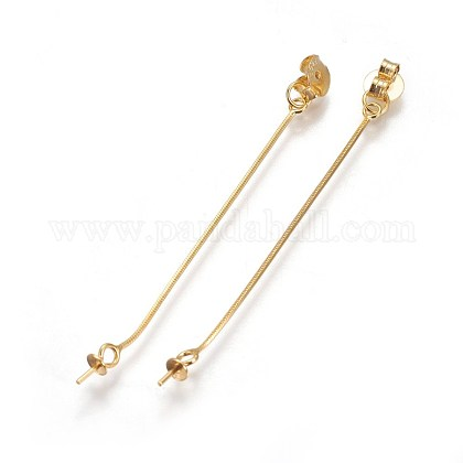 S925 Sterling Silver Ear NutsSTER-F046-01G-1