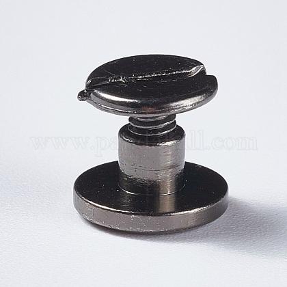 Remaches de uñas planas de latónKK-WH0075-03B-C-1