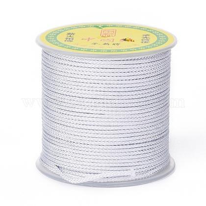 Cordón trenzado de poliéster para hacer joyasOCOR-F011-C11-1