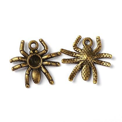 Halloween Jewelry Tibetan Style Alloy PendantsMLF10315Y-NF-1