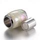 304 Stainless Steel Enamel Magnetic ClaspsSTAS-E136-60F-2