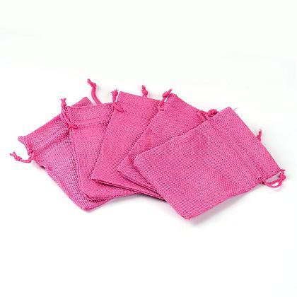 黄麻布ラッピングポーチ巾着袋ABAG-R005-9x12-08-1
