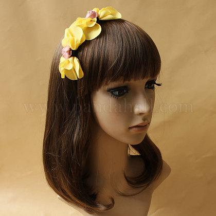 Mariposa del hierro cintas para el pelo de la joyaX-OHAR-N0006-023-1