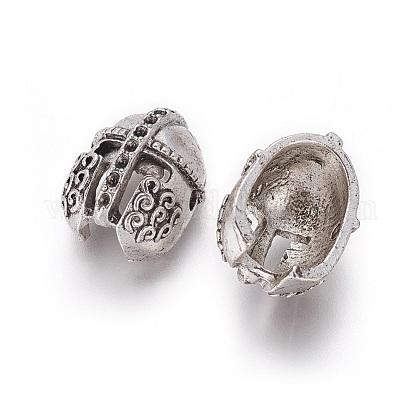 Tibetan Style Alloy Bead Rhinestone SettingsPALLOY-F224-13AS-1