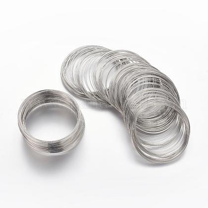 Steel Bracelet Memory WireMW5.5CM-NF-1