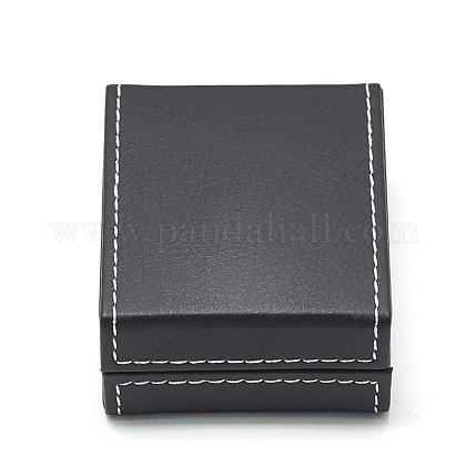 Plastic Imitation Leather Pendant Necklaces BoxesOBOX-Q014-27-1