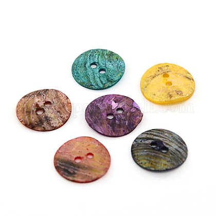 Mother of Pearl Buttons SHEL-J001-M06-1