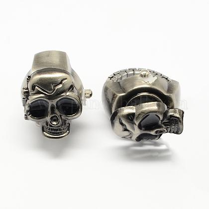 Iron Stretch Ring Quartz WatchesRJEW-R119-01B-1