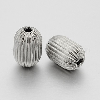 Colonne 304 en acier inoxydable perles onduléesSTAS-N062-09C-1