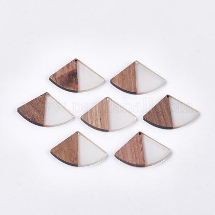 Colgantes de resina y madera de nogalRESI-S358-86A-01-1