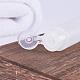 Transparent PE Plastic Flip Top Cap BottlesMRMJ-BC0001-15-5