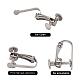 304 Stainless Steel Clip-on Earring SettingsSTAS-Q227-01-3