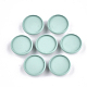 Spray Painted Environmental Iron Slide Charms Cabochon SettingsIFIN-T009-17A-03-1