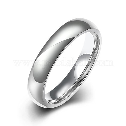 Fashionable 316L Titanium Steel Finger Rings for Women RJEW-BB07173-6-1