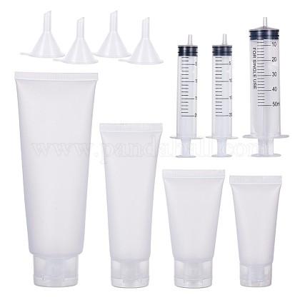 Benecreat матовые пластиковые многоразовые косметические флаконыMRMJ-BC0001-73-1