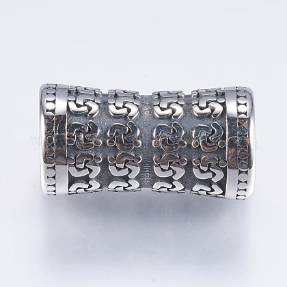 Perlas de tubo de 316 acero inoxidableX-STAS-I076-082AS-1
