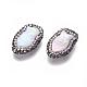 Perlas naturales abalorios de agua dulce cultivadasPEAR-F015-49-2