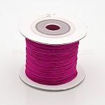 Nylon Thread, Fuchsia, 0.4mm; about 100m/roll