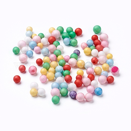 Foam Beads Balls DIY Crafts X-DIY-WH0003-A10-1