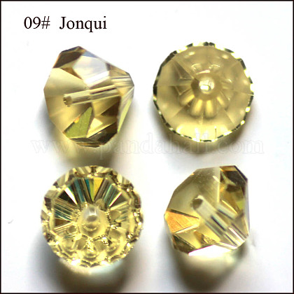 Imitation Austrian Crystal Beads SWAR-F075-10mm-09-1