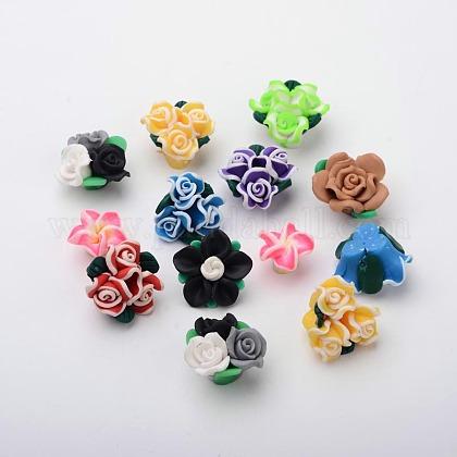 Handmade Polymer Clay CabochonsCLAY-O001-01-1
