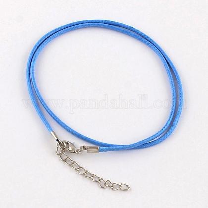 Algodón encerado el collar del cordónMAK-S032-1.5mm-139-1