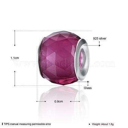 Faceted Glass European BeadsGPDL-BB23792-B-1