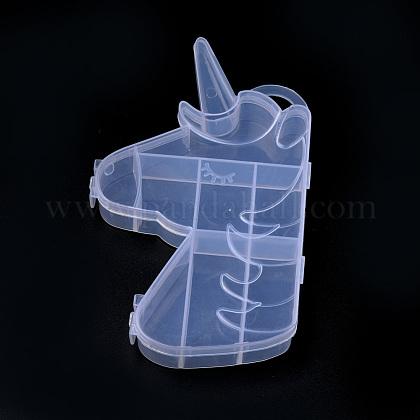 Recipientes de almacenamiento de abalorios de plásticoCON-S042-06-1