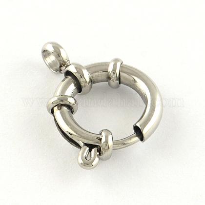 304 пружинное кольцо из нержавеющей сталиSTAS-R083-03-1