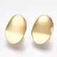 Brass Clip-on Earring FindingsKK-T038-246G-1