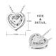 SHEGRACE® 925 Sterling Silver Pendant NecklaceJN636A-2