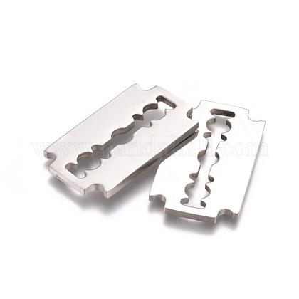 304ステンレススチール製フィリグリー透かしコネクターSTAS-D0002-27P-1