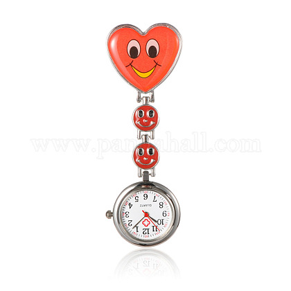 Alloy Heart Nurse Table Pocket WatchesWACH-N007-02B-1