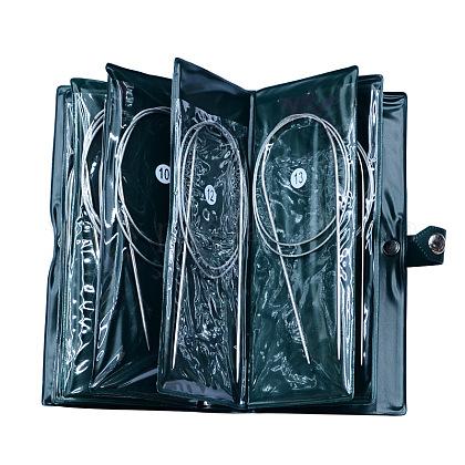 Base de agujas de tejer circular de acero inoxidable alambre de aceroTOOL-R050-80cm-1