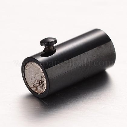 304ステンレススチール製マグネットクラスプSTAS-I045-12-4mm-1