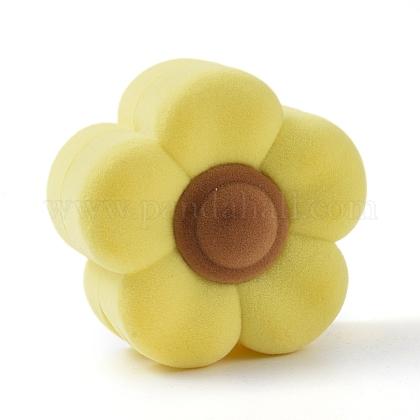 Бархатные шкатулки в форме цветков сливыVBOX-L002-F02-1