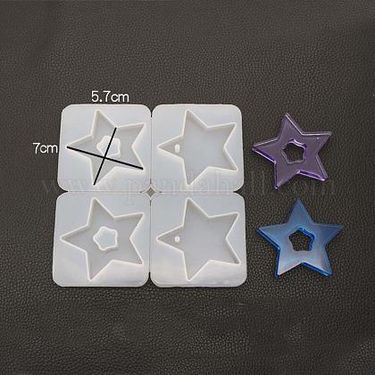 Moldes colgantes de siliconaDIY-K013-04-1