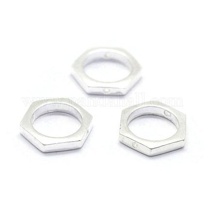 Sterling Silver Bead FramesSTER-I016-115S-1