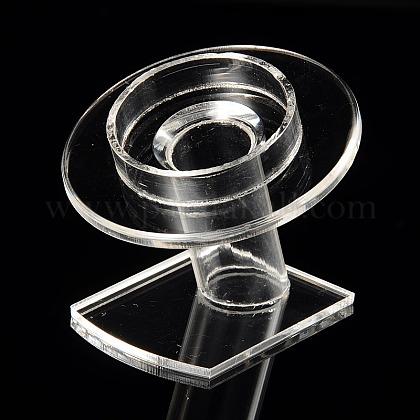 Organic Glass Bracelets/Bangles DisplayX-BDIS-N002-01-1