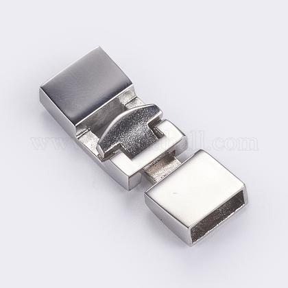 304のステンレス製スナップロックの留め金STAS-G163-05P-1