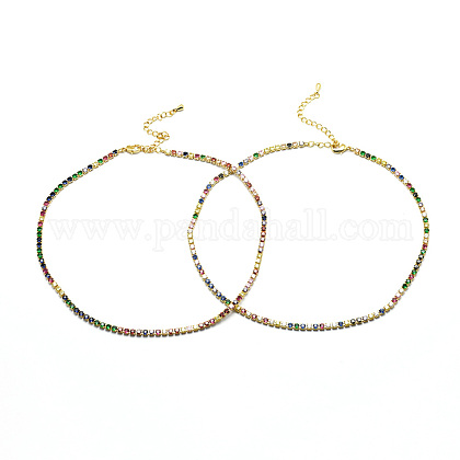Brass NecklacesNJEW-I104-14G-1