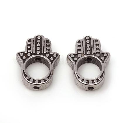 316 marcos de abalorios de acero inoxidableSTAS-I134-23AS-1